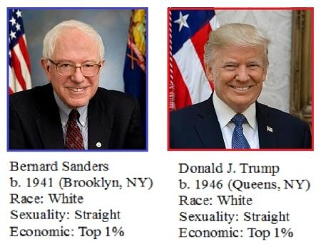 Sanders v Trump