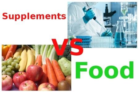 supplements v food