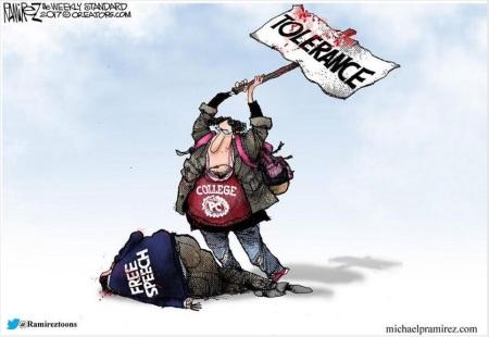 Tolerance v Free speech