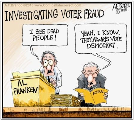 Voter fraud toon