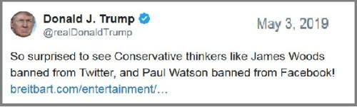 2019_05 03 Trump tweet