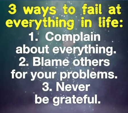 3 ways to fail