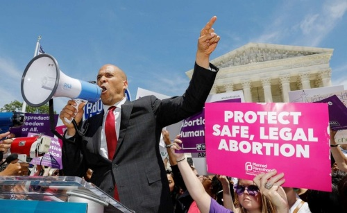 Booker abortion