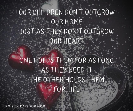 children don't outgrow