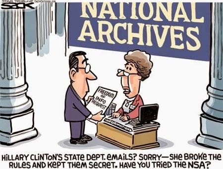 Clinton email nsa