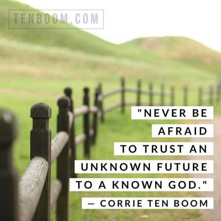 Corrie ten Boom known God