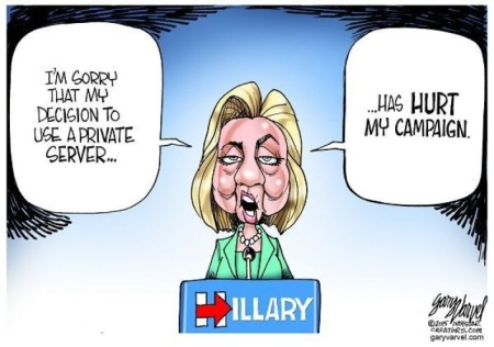 Hillary sorry not sorry