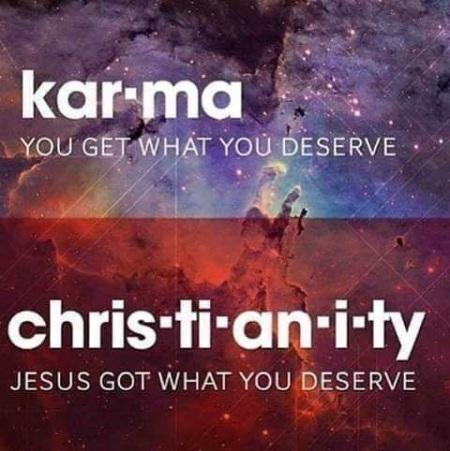 karma v christianity