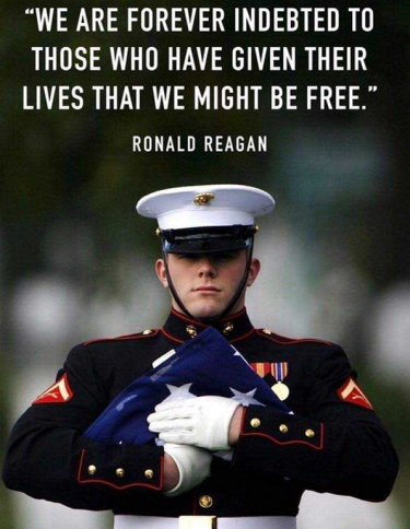 Meml Day Reagan