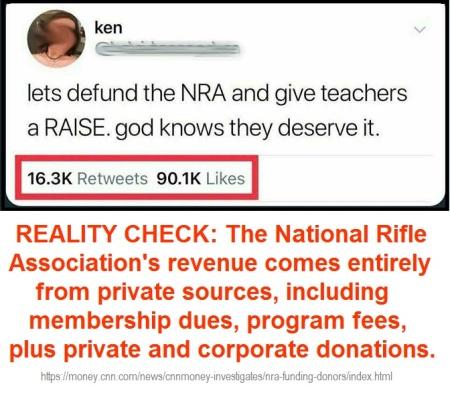 NRA funding