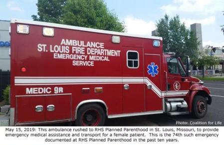 St Louis ambulance