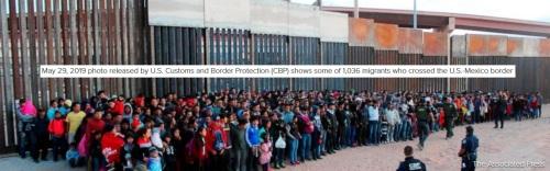 1036 migrants
