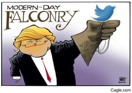 2019 Trump Tweet toon