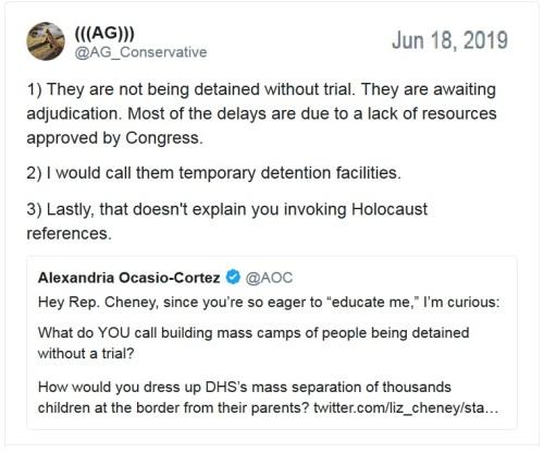 AOC dishonest