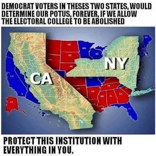 CA NY electoral