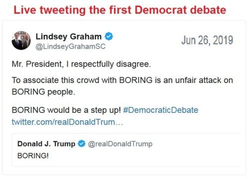 Debate boring