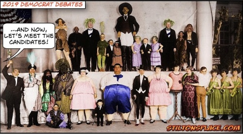 Dem Debates by Stilton