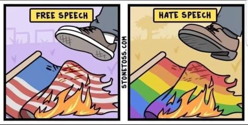 flag burning