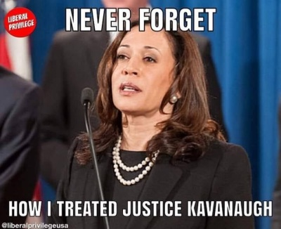 Kamala never forget