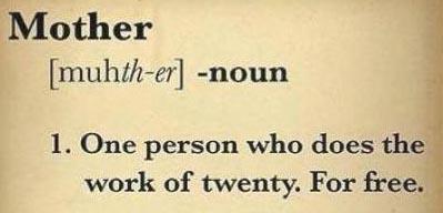 PARENTING Mother noun