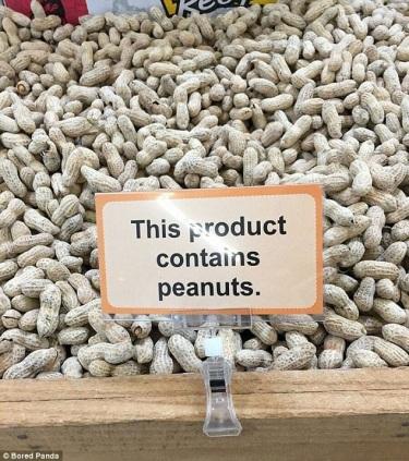 REAL SIGN Peanuts PN