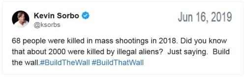 Sorbo wall tweet