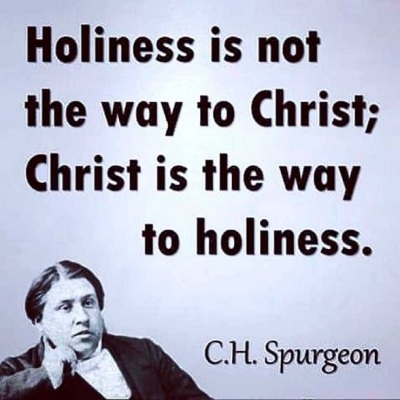 Spurgeon Holiness