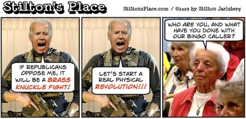Stilton Biden revolution