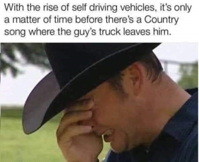 truck leaves