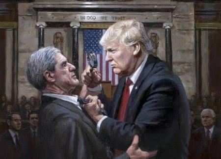 Trump investigates Mueller