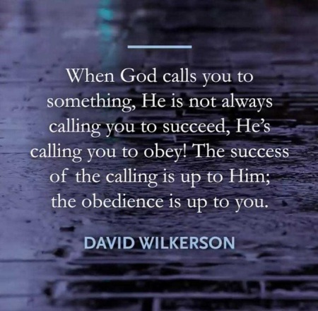 calling v obedience