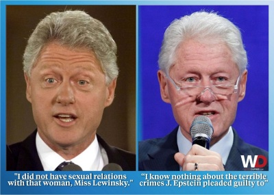 clinton I know nothing
