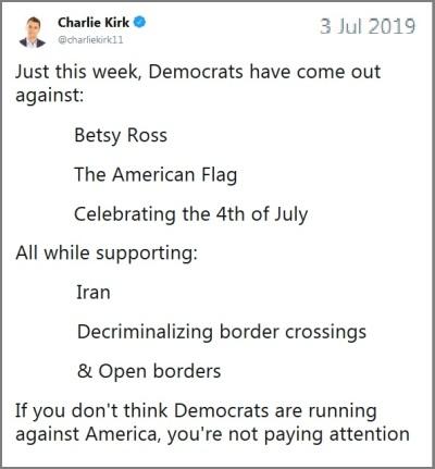 Dems against America
