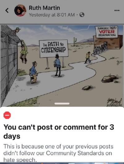Martin FB jail toon