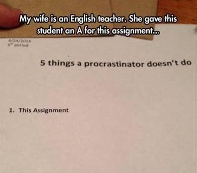 Procrastinator A