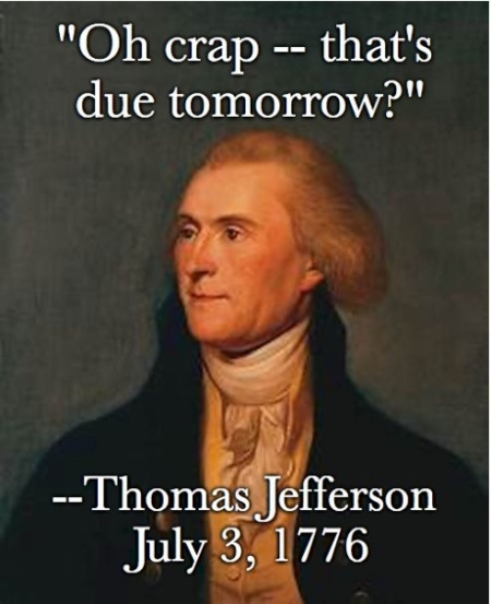 Thomas Jefferson July 3