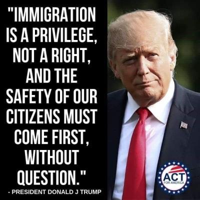 Trump immigration privilege