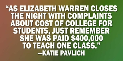 Fauxcahontas college