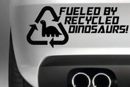 recycled dinosaurs bs