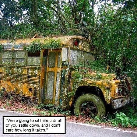 school bus LOL