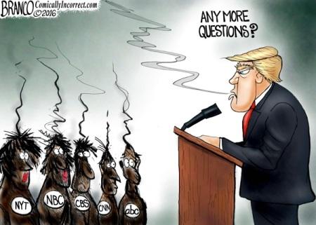 Trump flames MSM by Branco