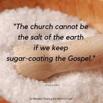 2019_09 07 Gospel salt sugar
