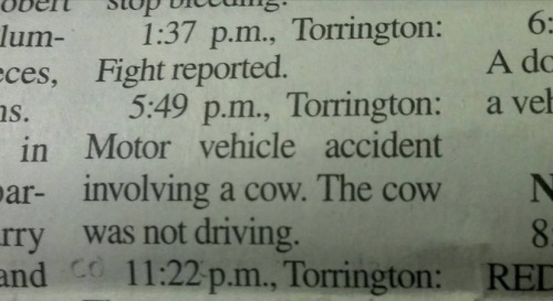 2019_09 20 COW not driving
