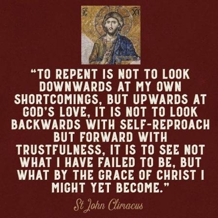 2019_09 30 Repent St John Climacus