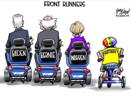 2020 frontrunners toon