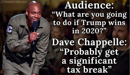 2020 Trump Chappelle