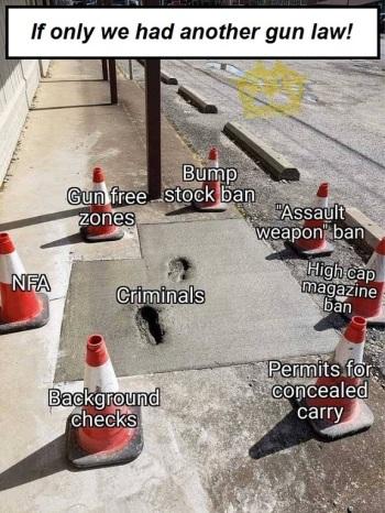 2A gun laws cement