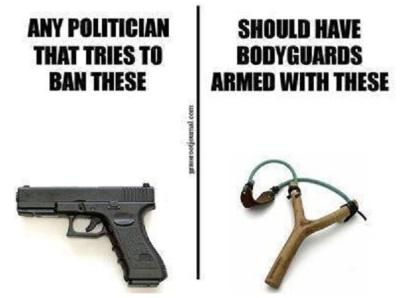 2A pols who ban guns