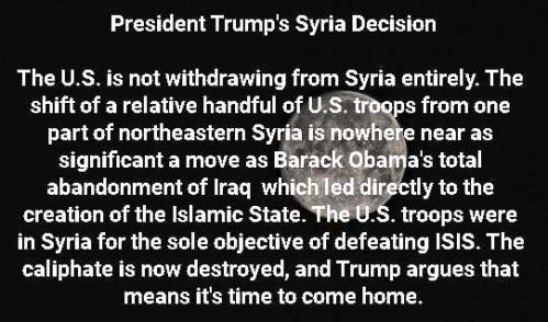 2019_10 09 Trump's Syria decision