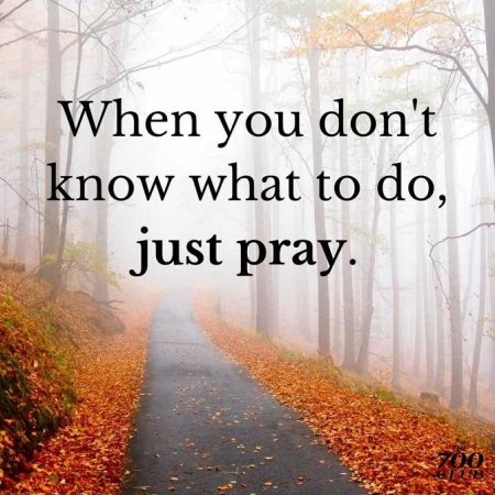 2019_10 27 just pray